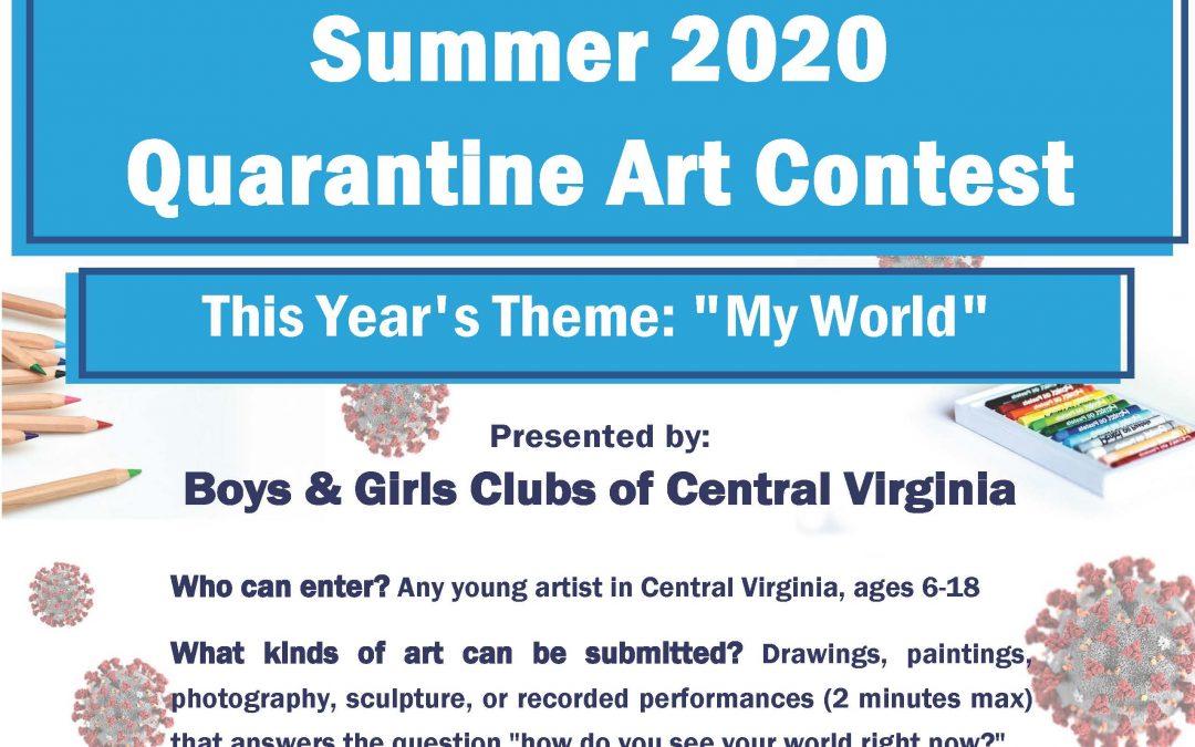 SUMMER 2020 QUARANTINE ART CONTEST